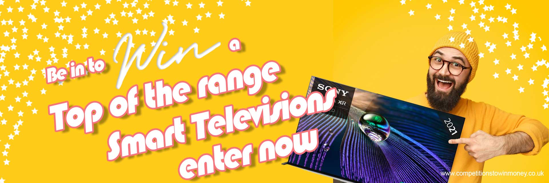 Competition to Win a Smart TV