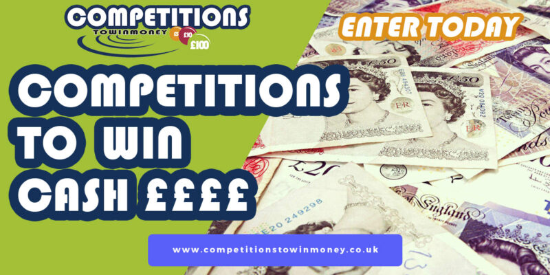 Competition To Win £12000 Cash Tax Free