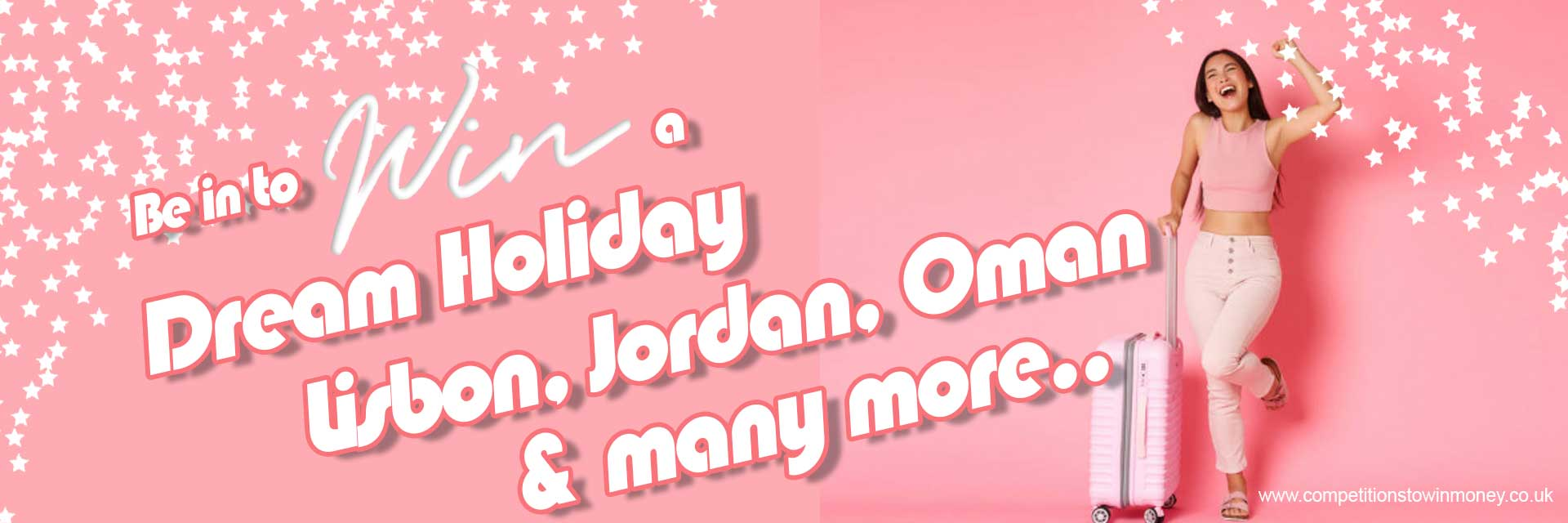 Competitions to Win a Holiday