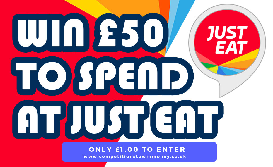 Win £50 To Spend At Just Eat