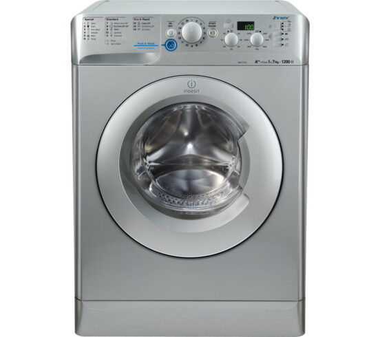 Competition to Win INDESIT Innex XWD71252S Washing Machine - Silver