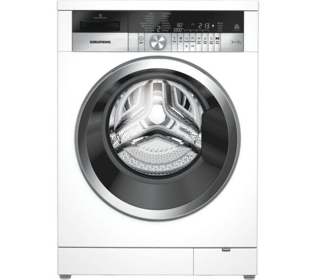 Competition to Win a GRUNDIG GWN49460CW Washing Machine - White