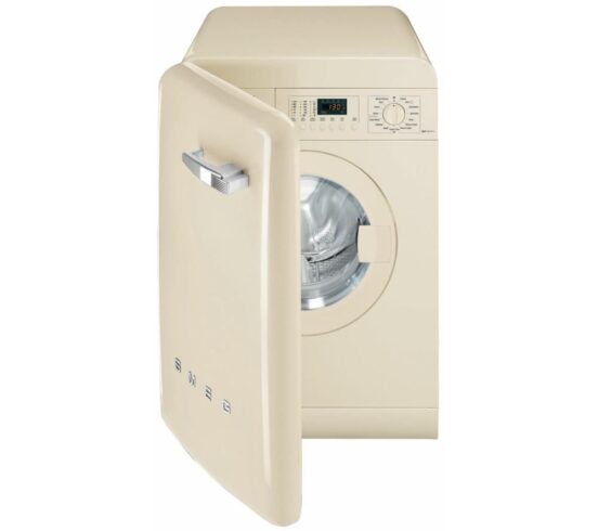 Win SMEG WMFABCR-2 Washing Machine - Cream