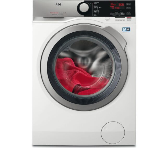 Competition to Win AEG ProSteam L7FEE945R Washing Machine - White