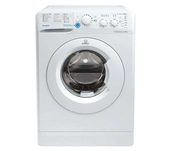 Win INDESIT Innex BWSC 61252 W Washing Machine - White