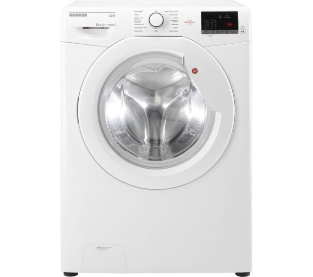 Win HOOVER DHL 14102D3 10 kg 1400 Spin Washing Machine - White