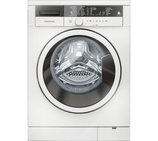 Competition to Win a GRUNDIG GWN38430W 8 kg 1400 Spin Washing Machine - White
