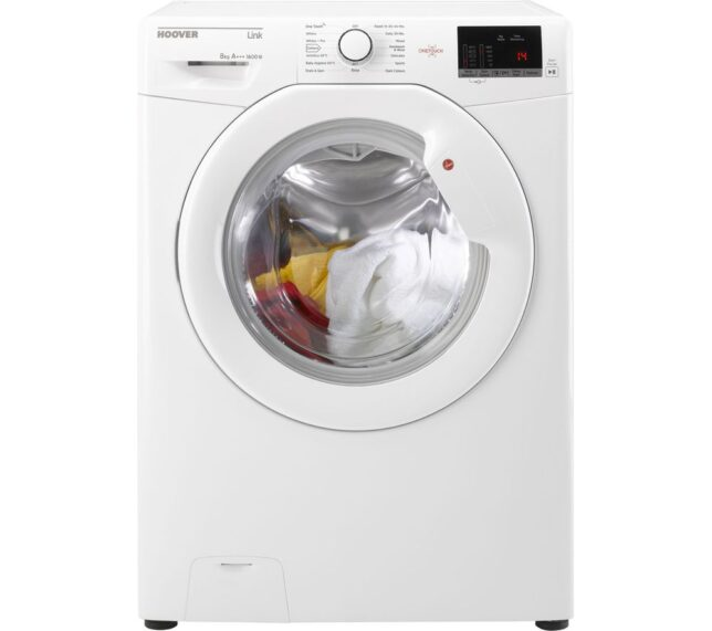 Win HOOVER HL 1682D3 NFC 8 kg 1600 Spin Washing Machine - White