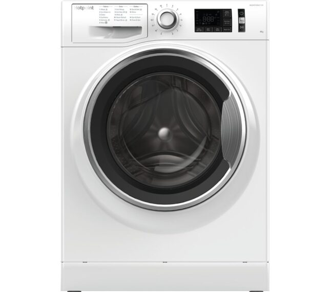 Win HOTPOINT ActiveCare NM11 946 WC A 9 kg 1400 Spin Washing Machine - White