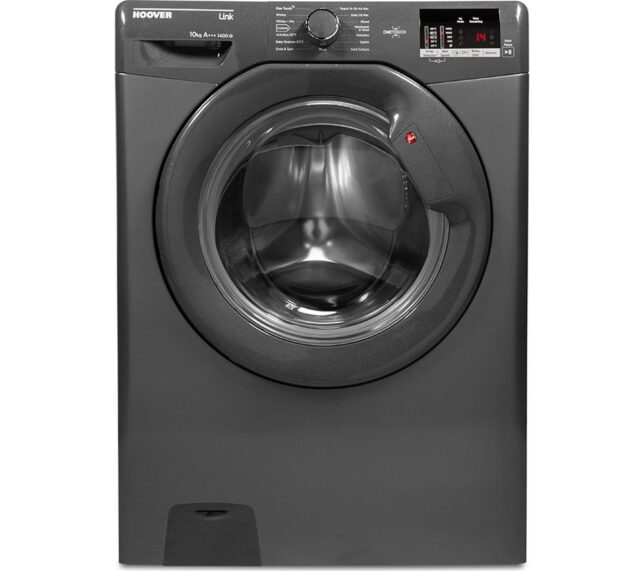 Win HOOVER DHL 14102D3R Smart 10 kg 1400 Spin Washing Machine - Graphite