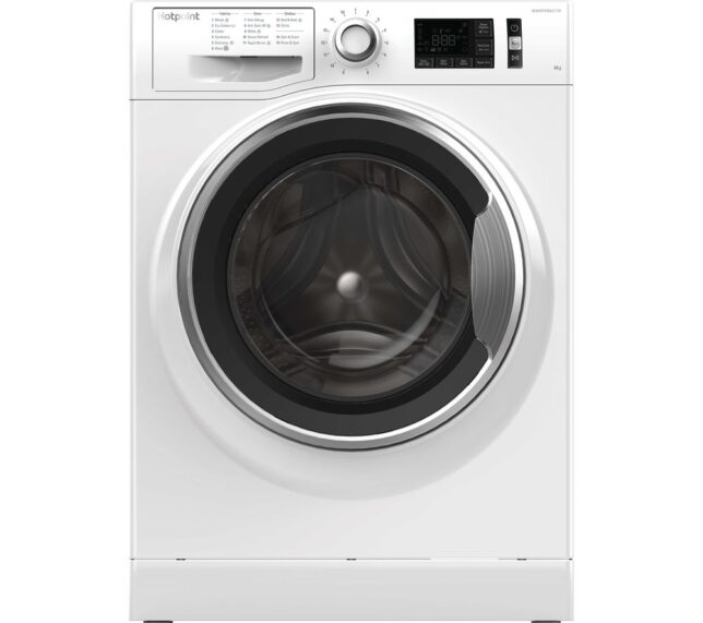 Win HOTPOINT ActiveCare NM11 845 WC A UK 8 kg 1400 Spin Washing Machine - White