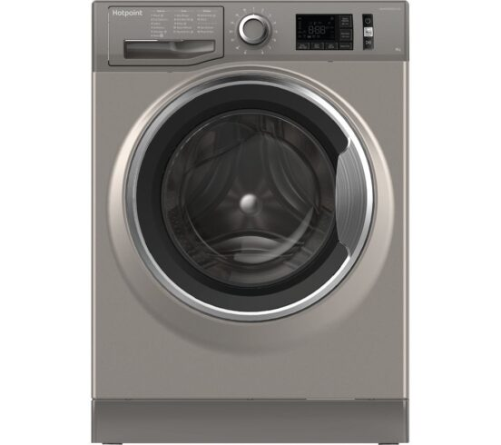 Win HOTPOINT ActiveCare NM11 845 GC A UK 8 kg 1400 Spin Washing Machine - Graphite