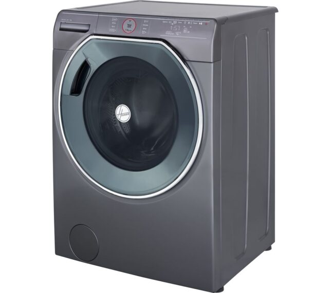 Win HOOVER AXI AWMPD69LH7R Smart 9 kg 1600 Spin Washing Machine - Graphite
