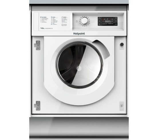 Competition to Win a HOTPOINT BI WDHG 7148 UK Integrated 7 kg Washer Dryer