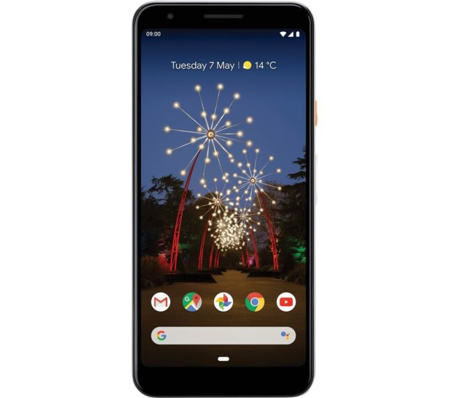 Win GOOGLE Pixel 3a - 64 GB Clearly White