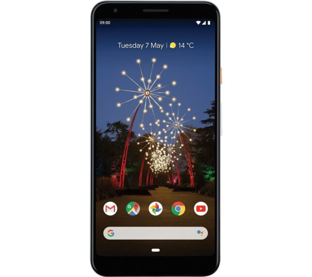 Win GOOGLE Pixel 3a XL - 64 GB Clearly White