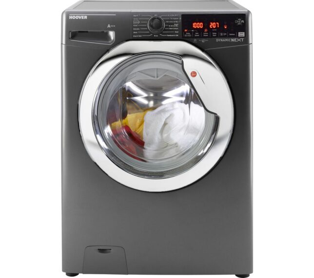 Win HOOVER Dynamic DWOAD 610AHC8G WiFi-enabled 10 kg 1600 Spin Washing Machine - Graphite