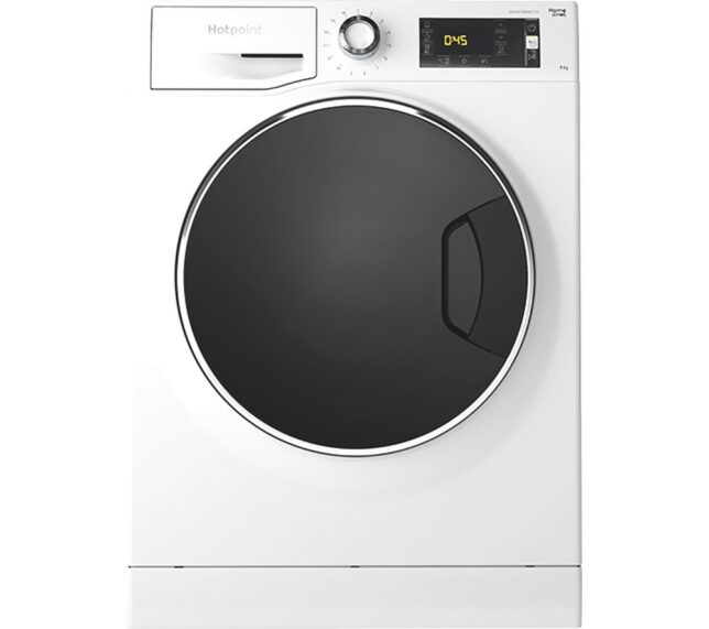 Competition to Win a HOTPOINT ActiveCare NLLCD 947 WD ADW UK WiFi-enabled 9 kg 1400 Spin Washing Machine - White