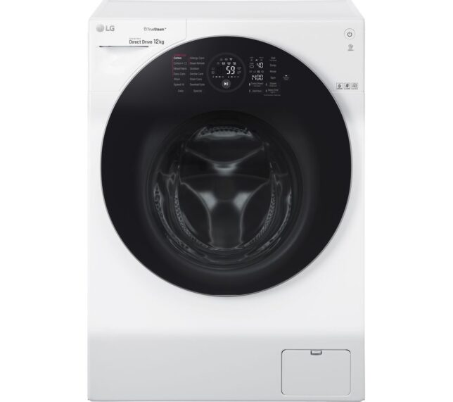 Competition to Win a LG FH4G1BCS2 WiFi-enabled 12 kg 1400 Spin Washing Machine - White