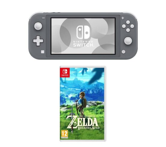 Competition to Win a NINTENDO Switch Lite & The Legend of Zelda: Breath of the Wild Bundle