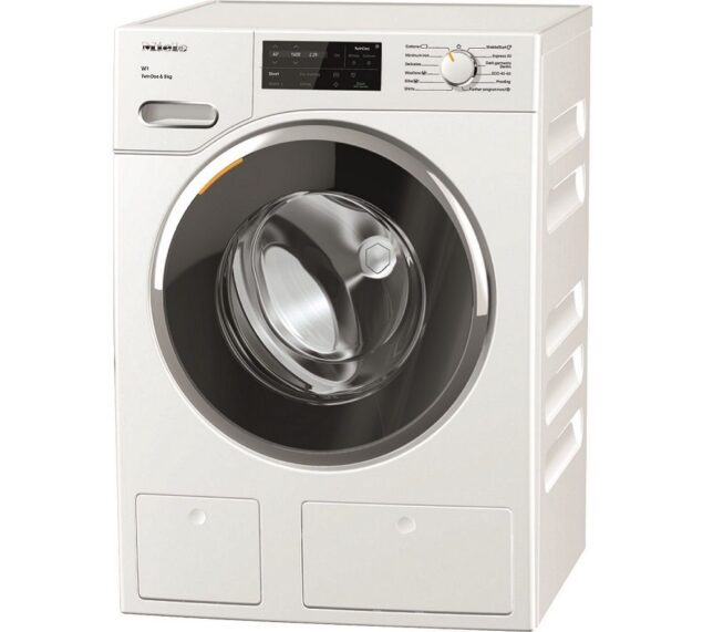Competition to Win a MIELE W1 TwinDos WWG 660 WCS WiFi-enabled 9 kg 1400 Spin Washing Machine - White