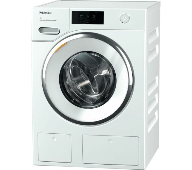 Competition to Win a MIELE WWR 860 WiFi-enabled 9 kg 1600 Spin Washing Machine - White