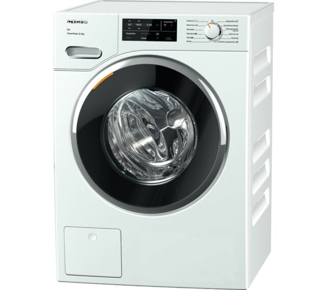 Competition to Win a MIELE WWG 360 WiFi-enabled 9 kg 1400 Spin Washing Machine - White