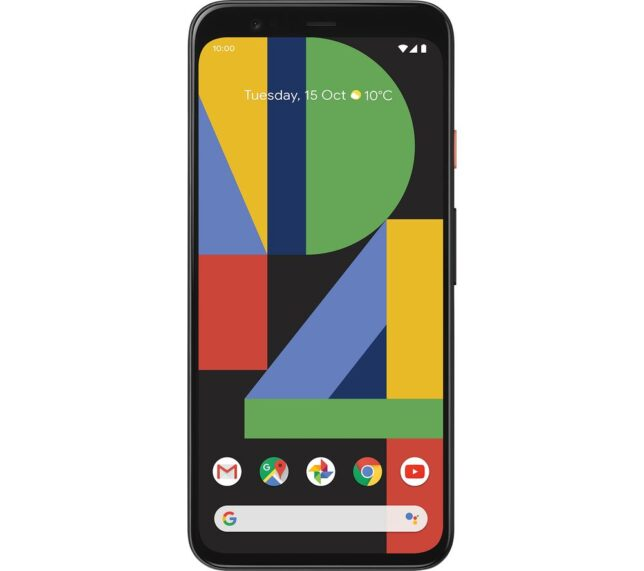 Win GOOGLE Pixel 4 - 128 GB Clearly White