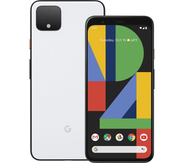 Win GOOGLE Pixel 4 XL - 128 GB Clearly White