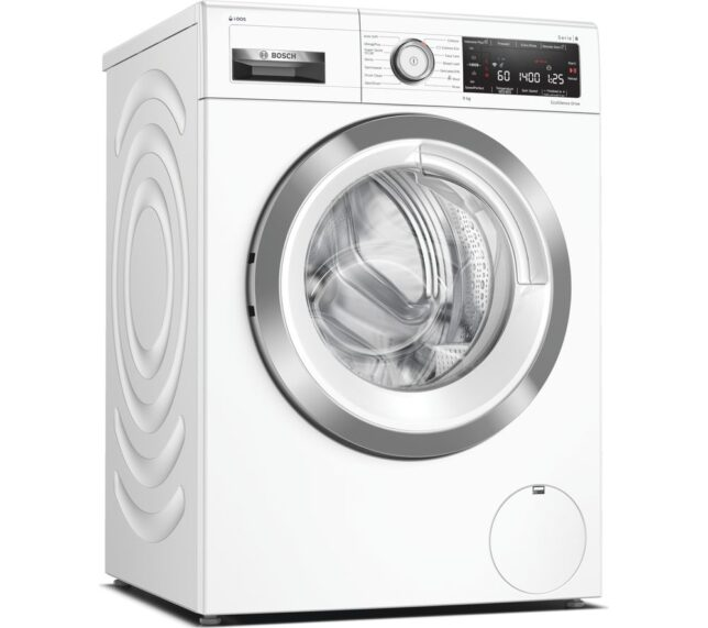 Competition to Win a BOSCH Serie 8 WAV28KH9GB WiFi-enabled 9 kg 1400 Spin Washing Machine - White