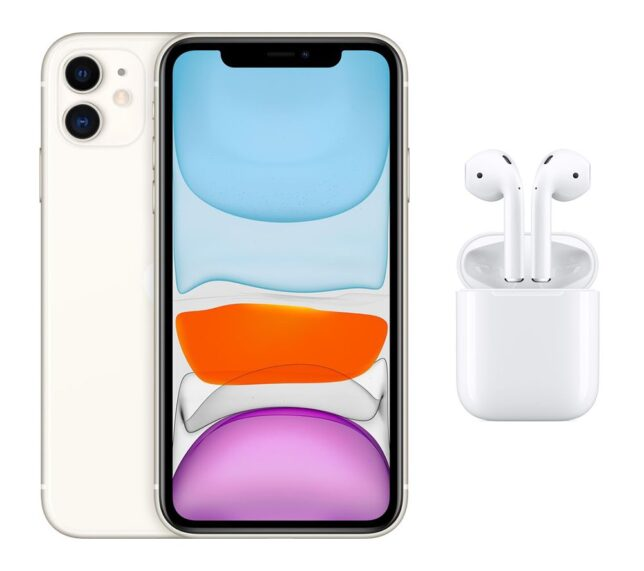 Win a APPLE iPhone 11 & AirPods with Charging Case (2nd generation) Bundle - 256 GB