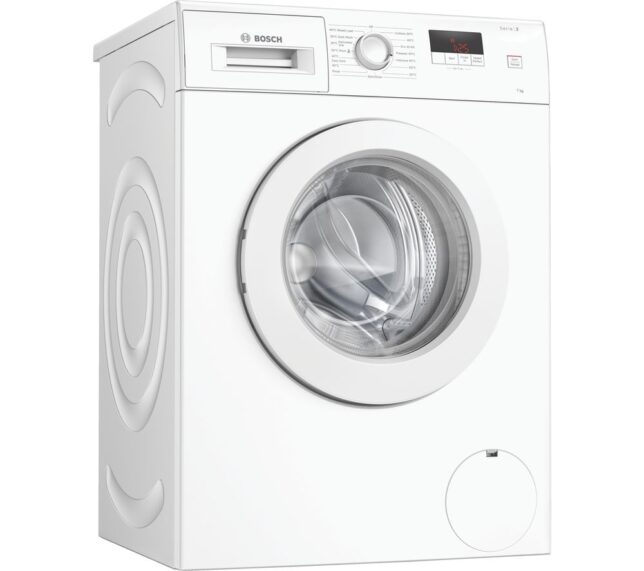 Competition to Win a BOSCH Serie 2 WAJ24006GB 7 kg 1200 Spin Washing Machine - White