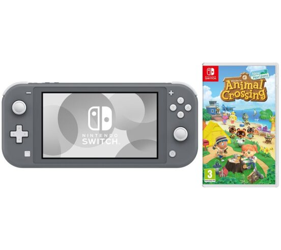 Competition to Win a NINTENDO Switch Lite Grey & Animal Crossing: New Horizons Bundle