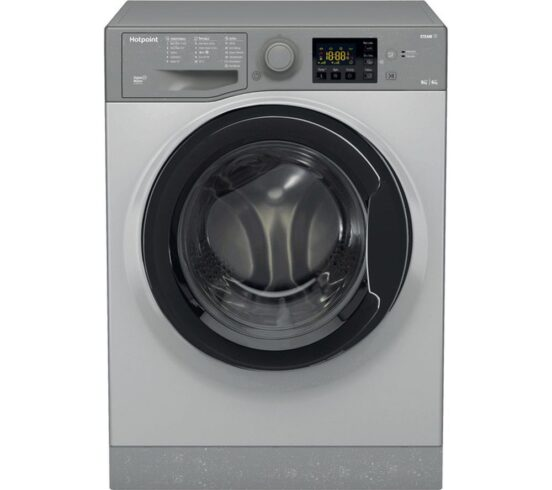 Competition to Win a HOTPOINT RDG 9643 GK UK N 9 kg Washer Dryer - Graphite
