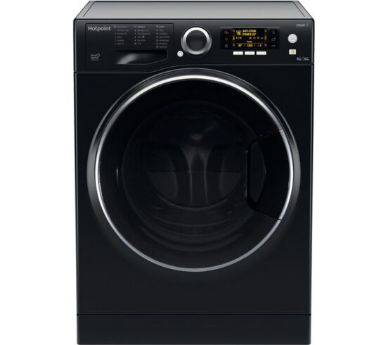 Competition to Win a HOTPOINT Ultima S-Line RD 966 JKD UK N 9 kg Washer Dryer - Black
