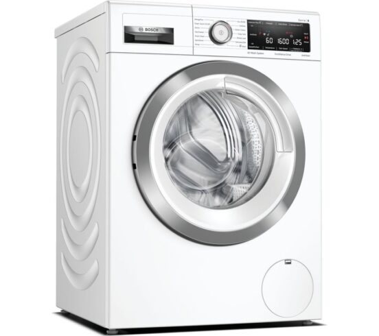 Competition to Win a BOSCH Serie 8 WAX32MH9GB WiFi-enabled 9 kg 1600 Spin Washing Machine - White