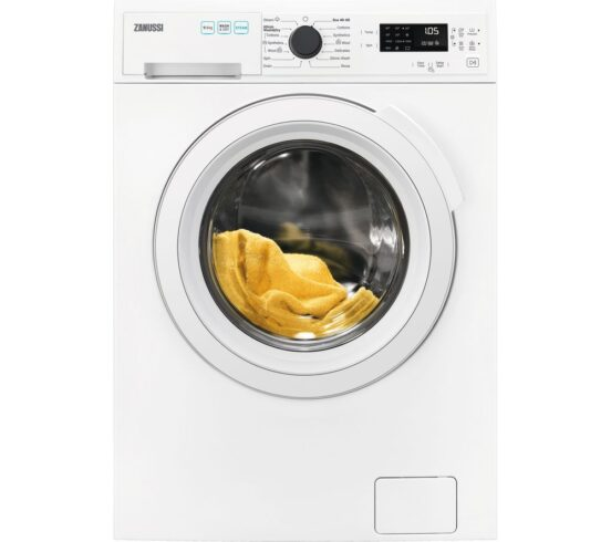 Competition to Win a ZANUSSI AutoAdjust ZWD96SB4PW 9 kg Washer Dryer - White