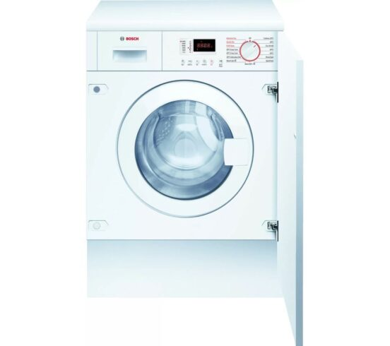 Competition to Win a BOSCH Serie 4 WKD28352GB Integrated 7 kg Washer Dryer