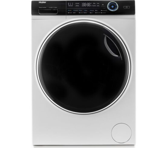 Competition to Win a HAIER i-Pro Series 7 HWD100-B14979 10 kg Washer Dryer - White