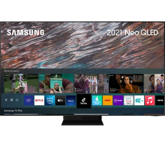 """Competition to Win a SAMSUNG QE75QN800ATXXU 75"""" Smart 8K HDR Neo QLED TV with Bixby"""