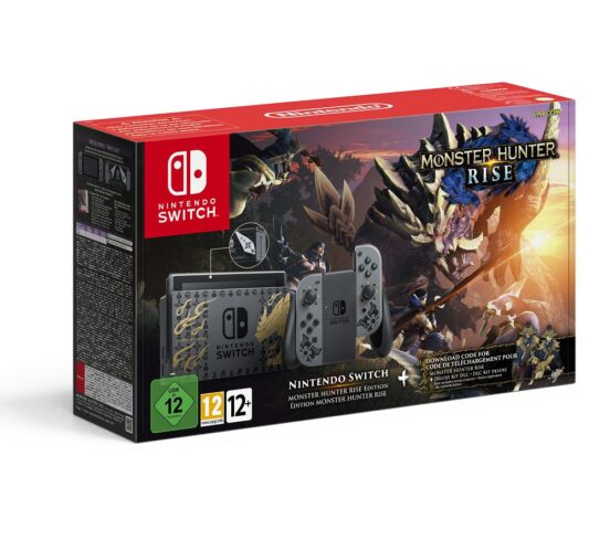 Competition to Win a NINTENDO Switch - Monster Hunter Rise Edition