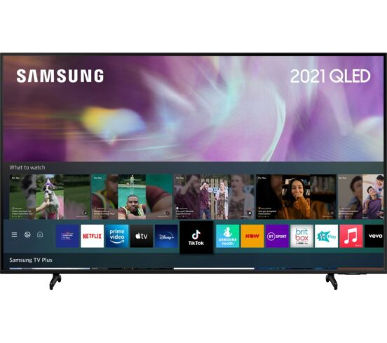 """Competition to Win a SAMSUNG QE50Q60AAUXXU 50"""" Smart 4K Ultra HD HDR QLED TV with Bixby"""