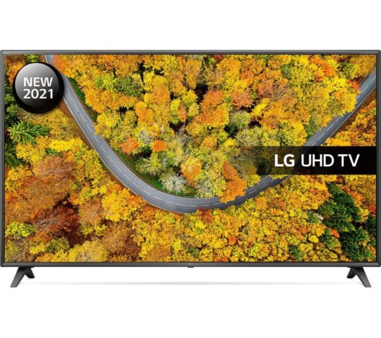 """Competition to Win a LG 75UP75006LC 75"""" Smart 4K Ultra HD HDR LED TV"""